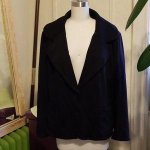 Spiegel Black Blazer/Jacket Size 20w NWT